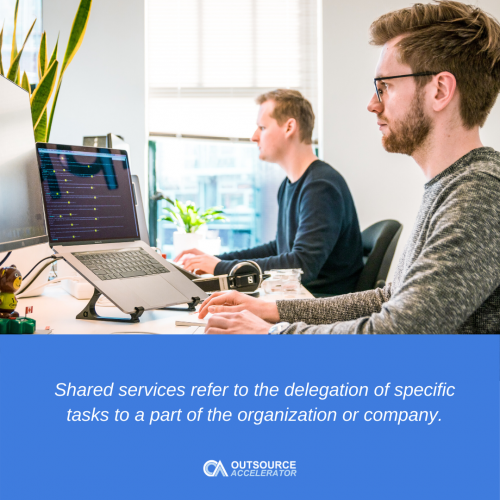 What is shared services