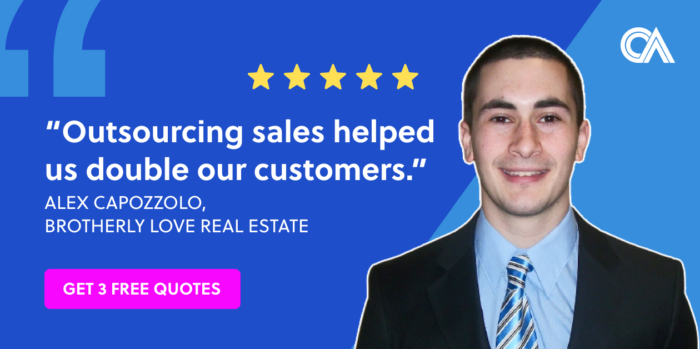 Outsourcing testimonials - Brotherly Love Real Estate