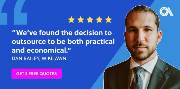 Outsourcing testimonials - WikiLawn