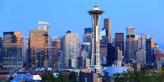 10 cities outsourcing the most - Seattle Washington