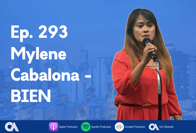 Mylene Cabalona of BIEN - A conversation with a BPO Workers' Union leader