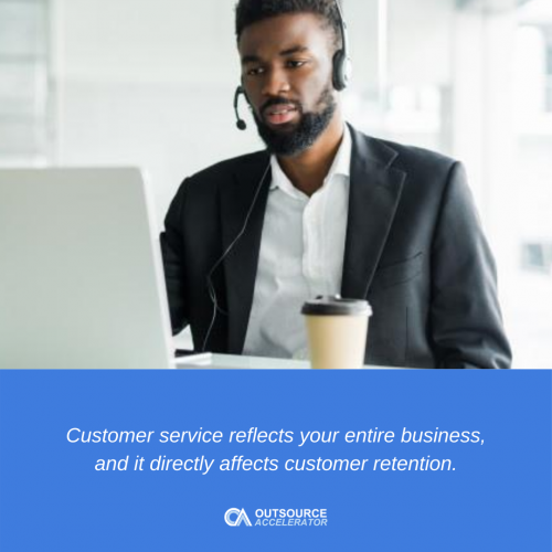Invest in your customer service representatives