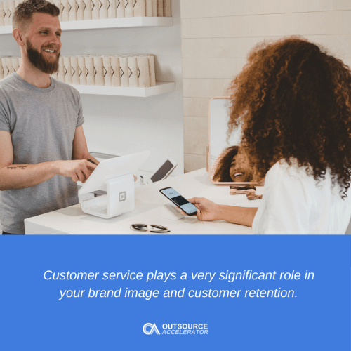 Measuring customer service standards
