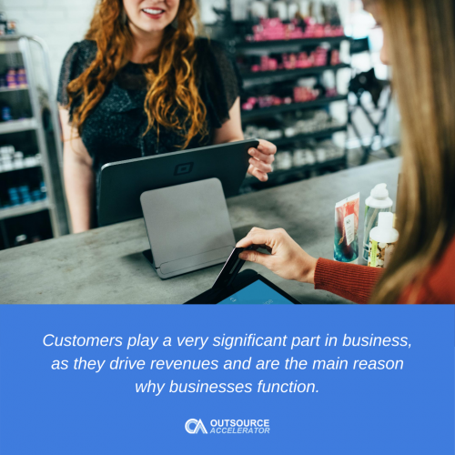 Who is a customer
