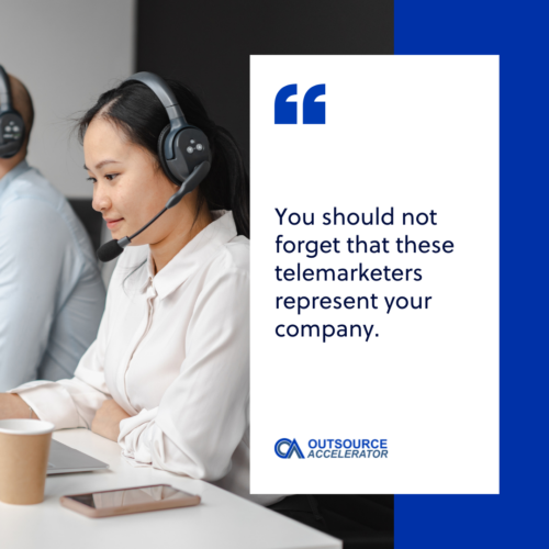 Outsourcing your telemarketing call center