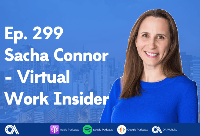 Sacha Connor of Virtual Work Insider - Remote work fundamentals for businesses
