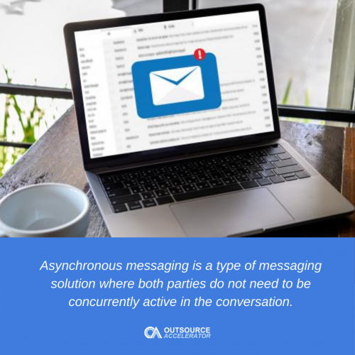 What is Asynchronous Messaging