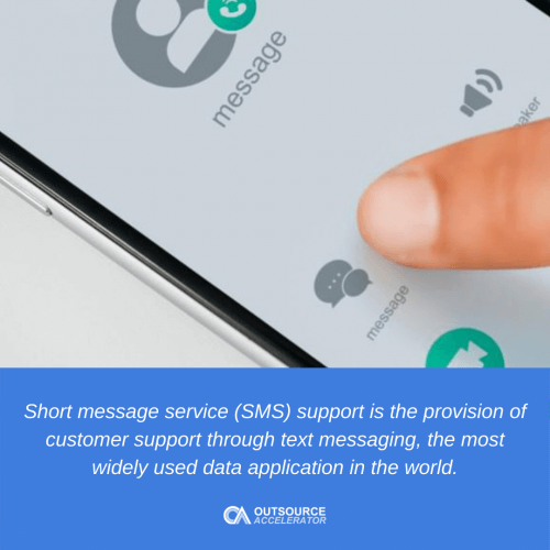 What is SMS Support