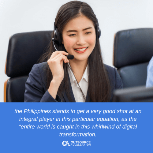 The outsourcing industry in the near future