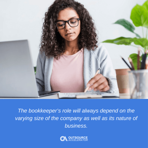 What do bookkeepers do
