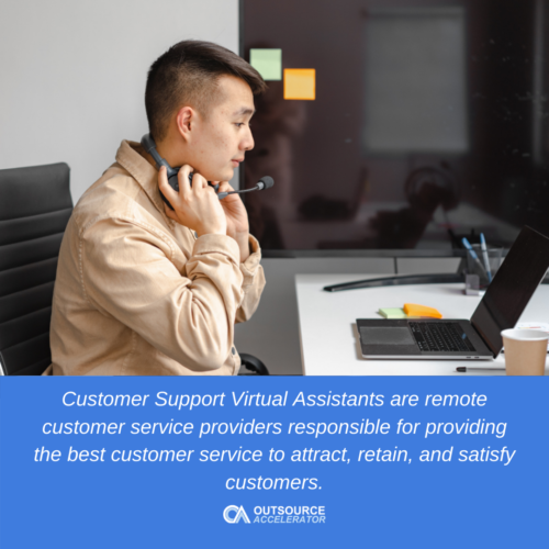 What is a customer support virtual assistant?