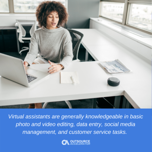 What qualities should you look for in a virtual assistant?