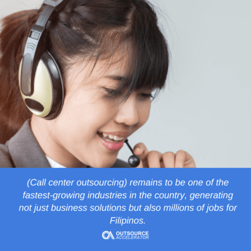 Call center outsourcing in the Philippines