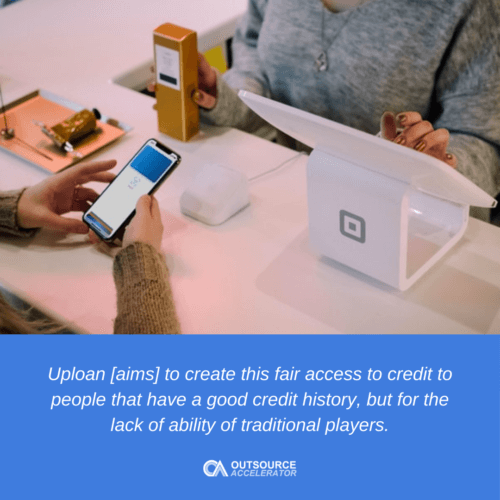 How Uploan benefits the consumer