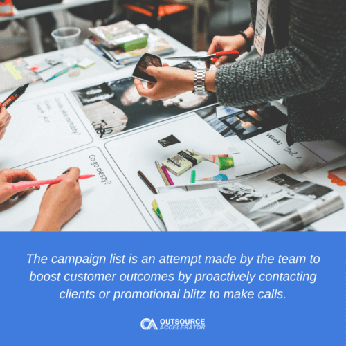 What is a Campaign List?