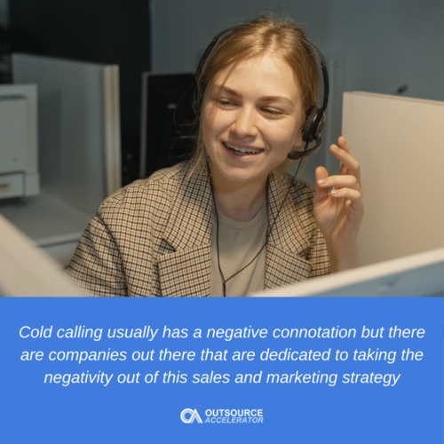 Cold calling's role in a company's growth