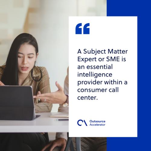 Definition of Subject Matter Expert (SME)