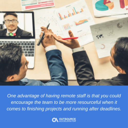 Remote staffing: A post-pandemic business savior