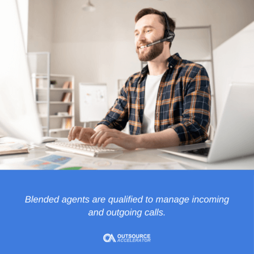What are Blended Agents