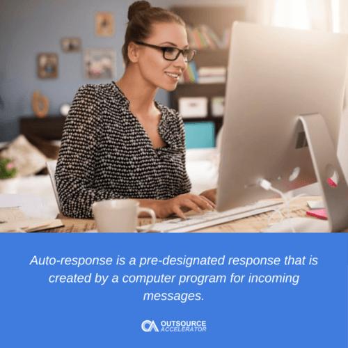 What is Auto-response
