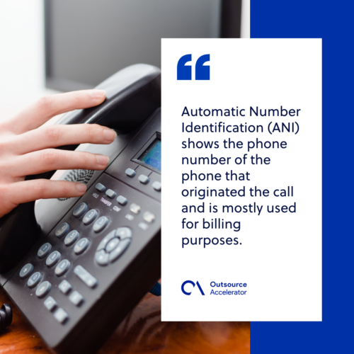 What is Automatic Number Identification (ANI)?