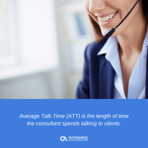 What is Average Talk Time?
