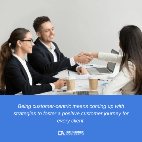 What is Customer-centric