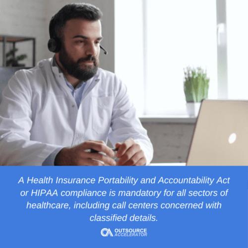 What is HIPAA compliance?
