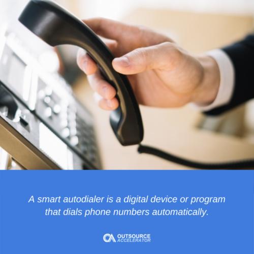 What is a Smart Autodialer?