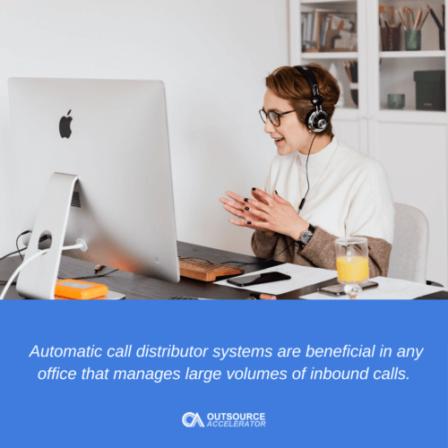 What is an Automatic Call Distributor?