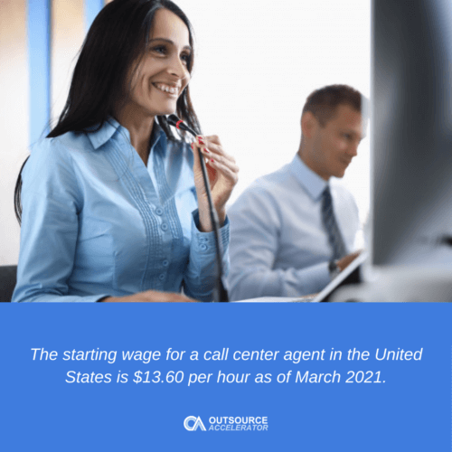 What is the Average Hourly Agent Wage