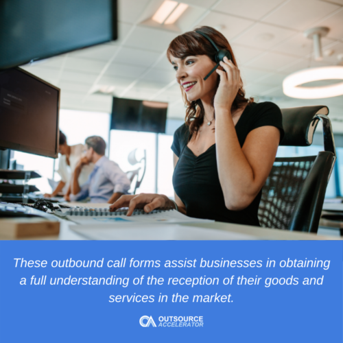 What are outbound call types?