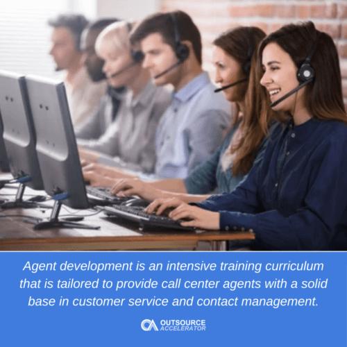 Call center agent development
