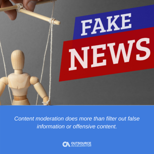 How content moderation shapes the customer experience