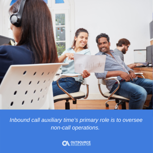 Best practice for inbound call auxiliary time