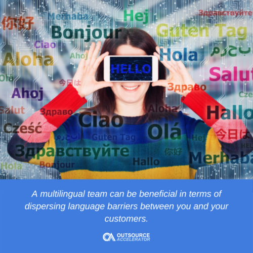 Why having a multilingual team is beneficial to your business