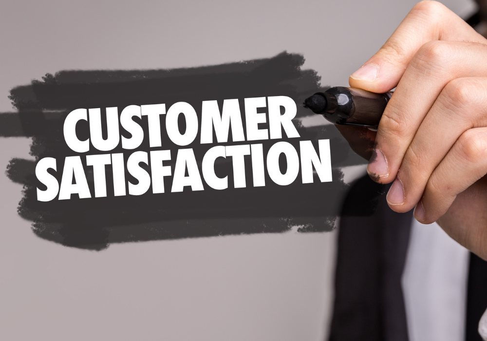 How customer satisfaction impacts a business' success