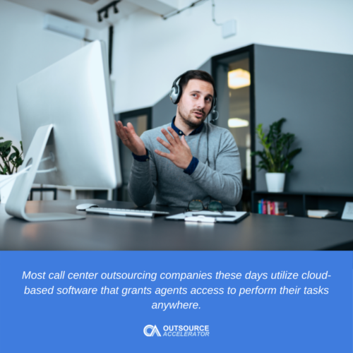Inbound call center outsourcing services then and now