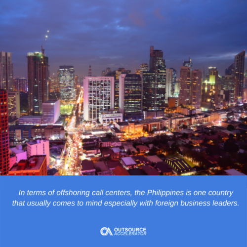 Offshoring inbound call center solutions in the Philippines