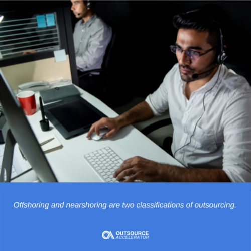 Offshoring vs outsourcing vs nearshore outsourcing