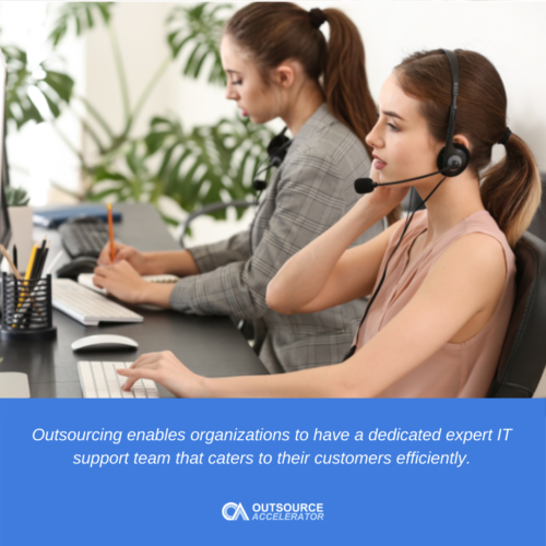 Outsource technical support as a business strategy