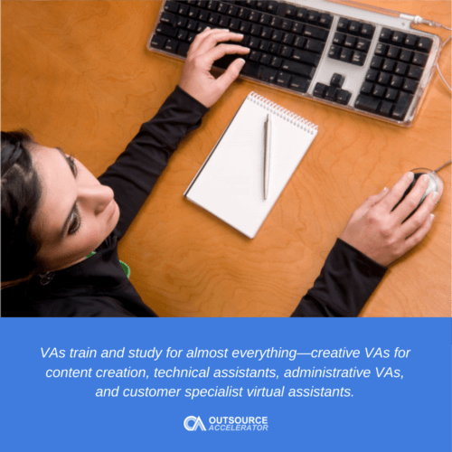 What do virtual assistants do?