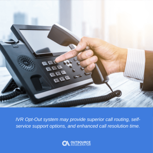 What is IVR Opt-Out?