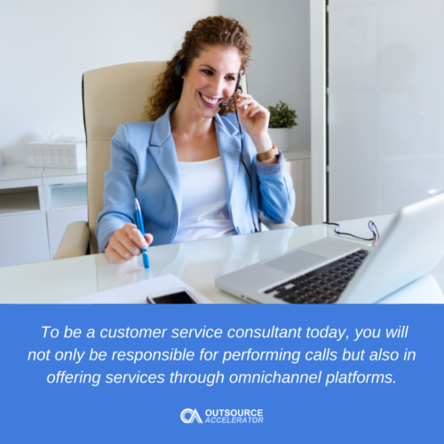 Customer service consulting in the modern age