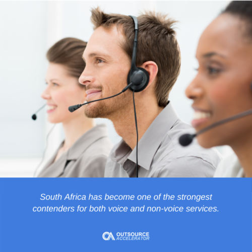 The South African BPO industry
