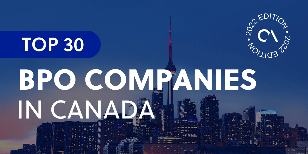 Top 30 BPO Companies in Canada