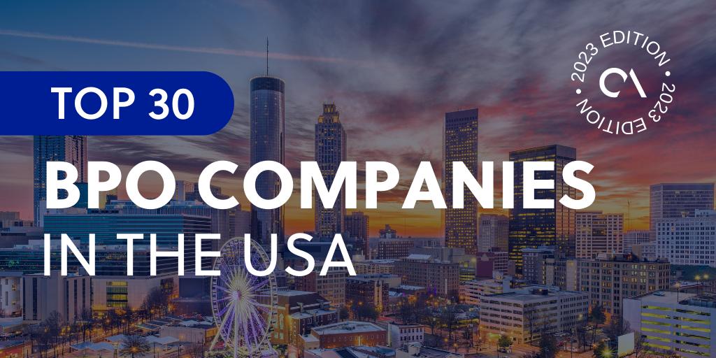 Top 30 BPO companies in the USA