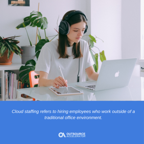 What is a cloud staff