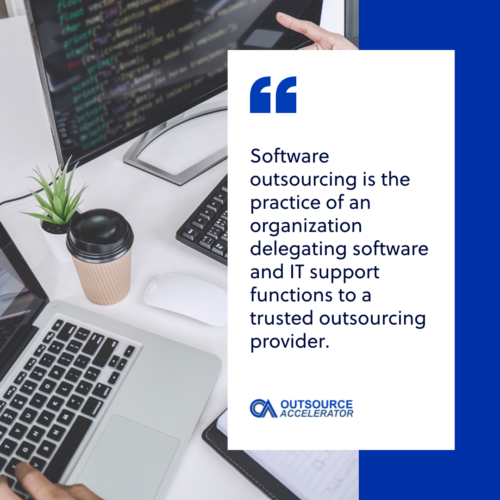 What is a software outsourcing company