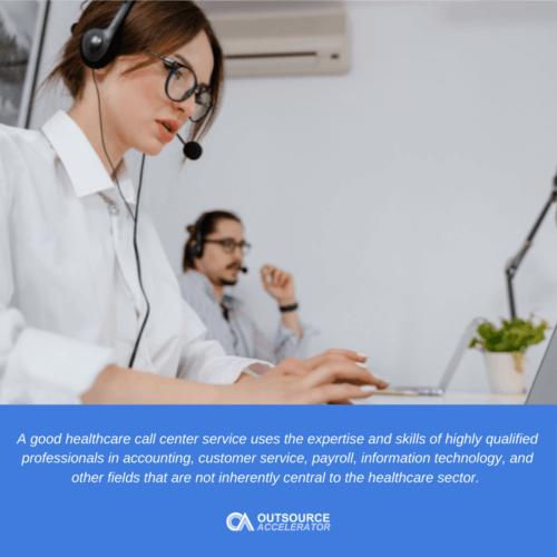 Benefits of a healthcare call center